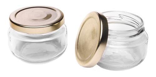 Ags frasco de vidrio pimiento 4 oz (72 piezas) cod. jardin