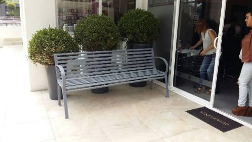 Banca para jardín exterior o interior