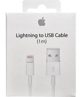 Cable original iphone ipad ipod usb carga rapida lightning