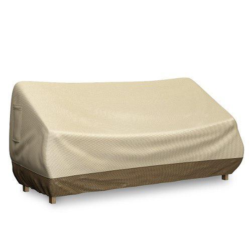 Home complete hc 4001 cubierta exterior para loveseat sofa