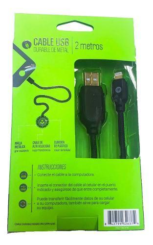 Mobo cable usb lightning original iphone ipad 2m