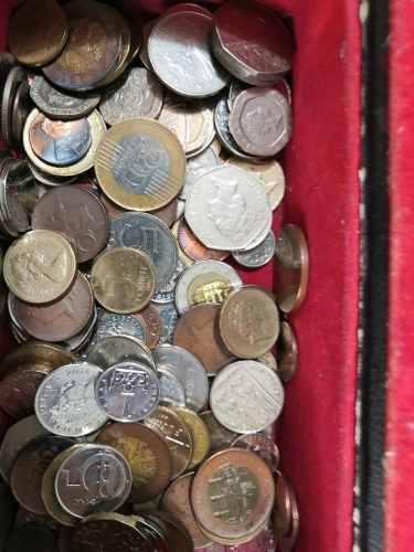 Monedas extranjeras por lote