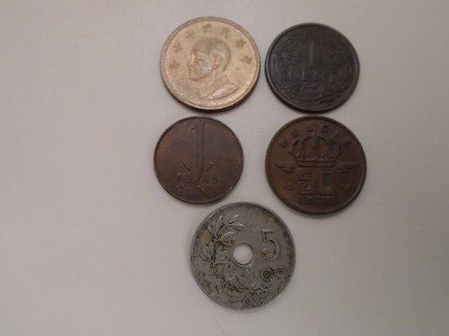 Set monedas extranjeras