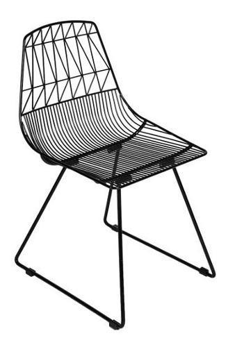 Sillas para exterior modernas sillas para resaturantes negra