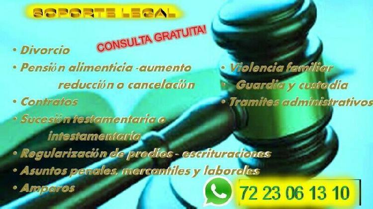 Abogado penal civil mercantil laboral toluca estado de
