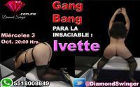 GANG BANG PARA LA INSACIABLE IVETTE