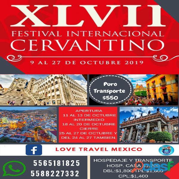Cervantino 2019
