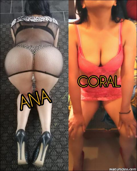 ANA Y CORAL ¡¡DÍA DE PROMO!! (ZONA NORTE)