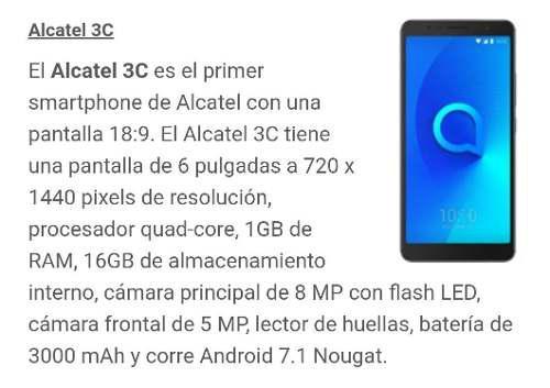 Alcatel 3c at&t