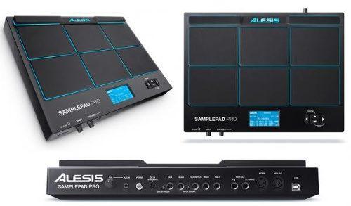 Alesis samplepad pro instrumento autonomo percusión bateria