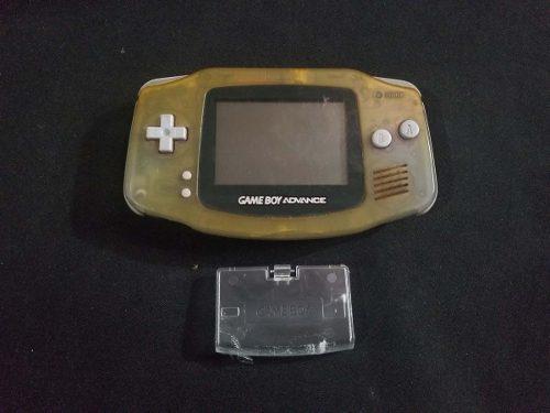 Gameboy advance translucido con tapa c