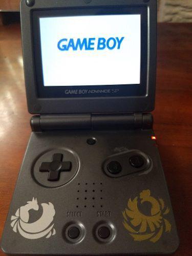 Gameboy sp gris ags-101 buen estado + cargador original