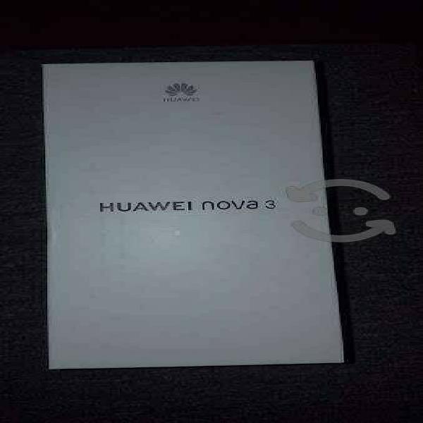 Huawei nova 3 att, unefon y nextel totalmente nuev