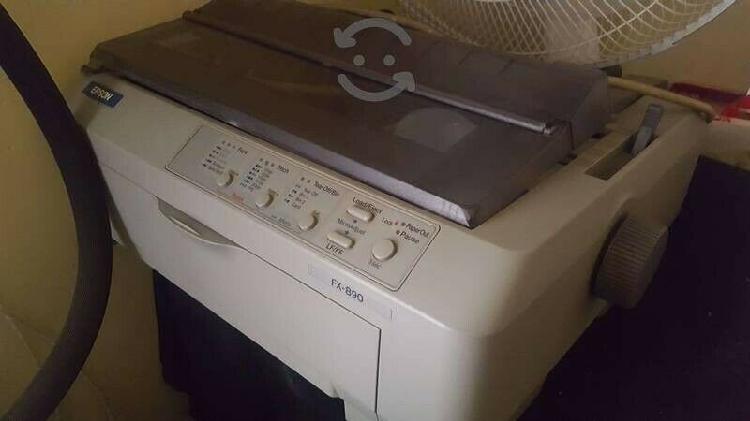 Impresora matriz de punto epson fx 890