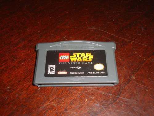 Lego star wars the video game nintendo gameboy advance +++