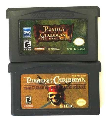 Paquete de piratas del caribe para gameboy advance