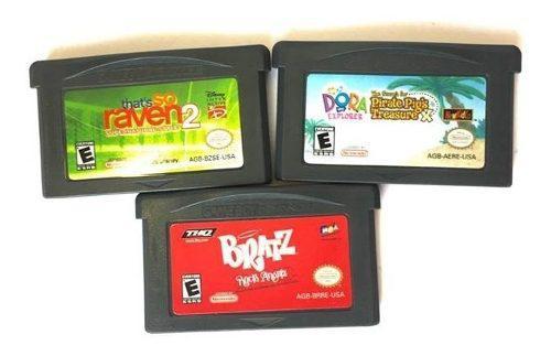 Paquete para gameboy!! that´s so raven 2// dora // bratz