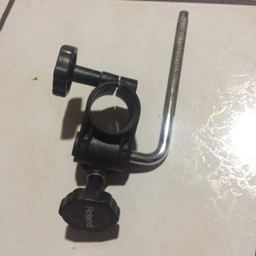 Soporte tom holder roland pad rack clamp bateria electrica