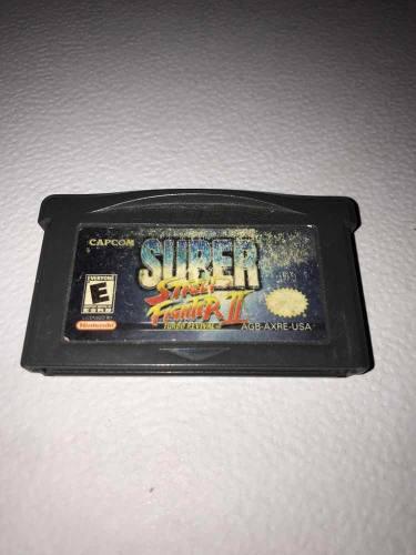 Super street fighter ii 2 turbo revival game boy advance!!!
