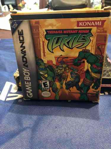 Teenage mutant ninja turtles gameboy