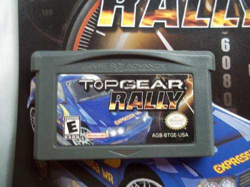 Top gear rally game boy advance nintendo gba