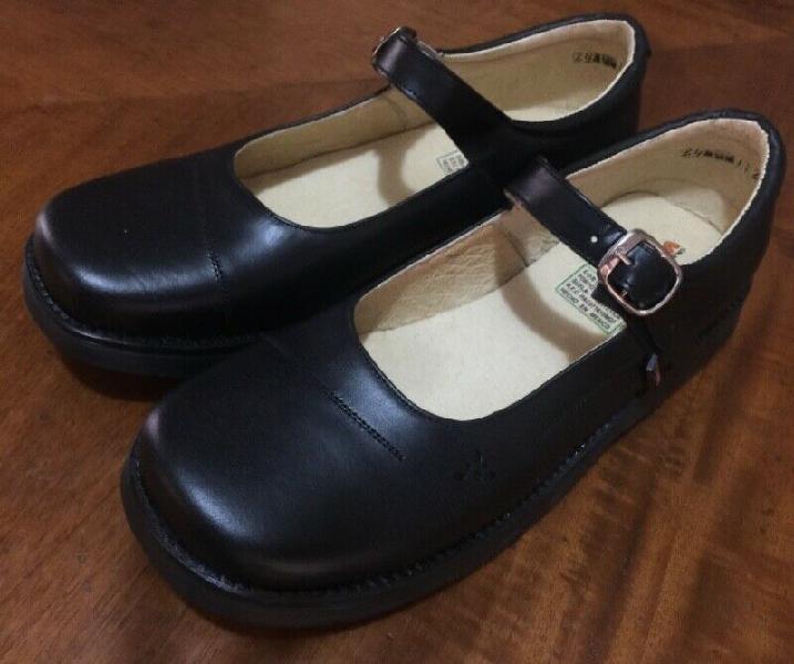 Zapato escolar 100% piel reforzado