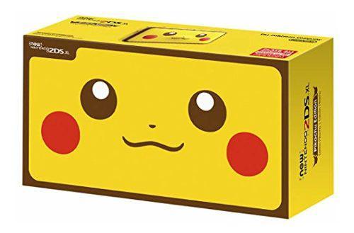 By nintendo new 2ds xl - edición pikachu