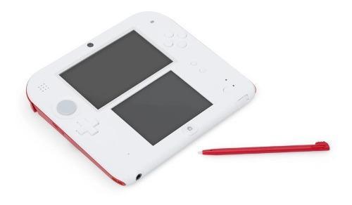 Consola nintendo 2ds scarlet red de 4 gb