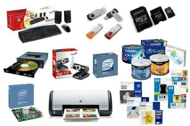 Consumibles de computación e impresión.