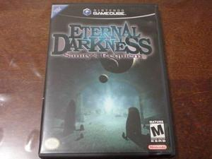 Eternal darkness, juego original, completo e impecable.