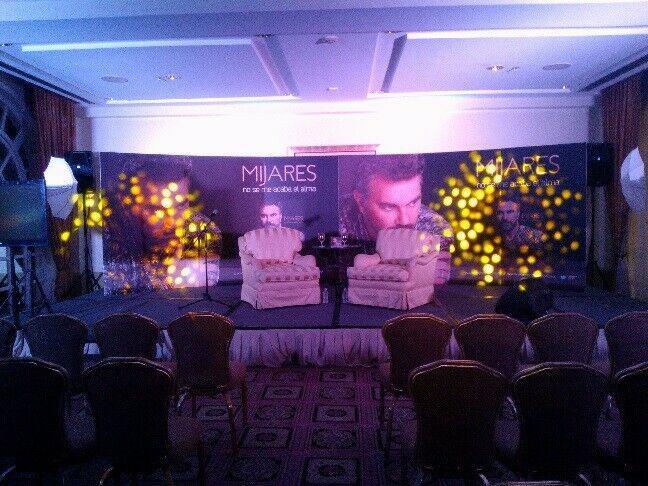 Iluminación profesional para eventos, conferencias,