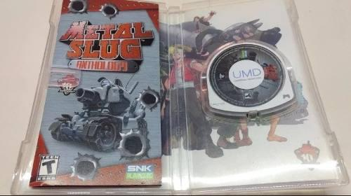 Juego metal slug anthology psp