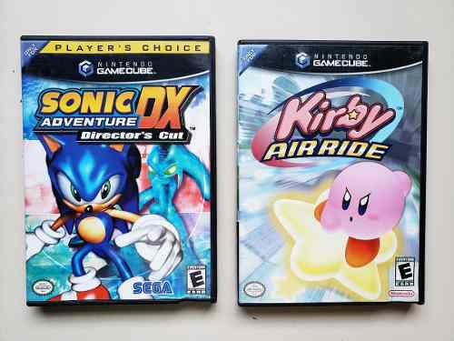 Juegos gamecube kirby air ride & sonic adventure