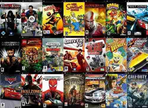 Juegos playstation portable (psp)