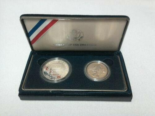 Monedas mundial usa 1994