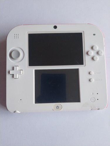 Nintendo 2ds blanco con rojo 18 juegos legítimos instalados