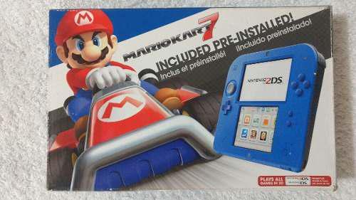 Nintendo 2ds edición mario kart 7 oportunidad..!!