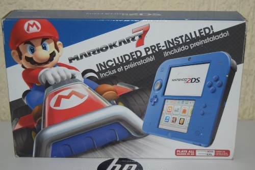 Nintendo 2ds edicion mario kart seminuevo en buen estado