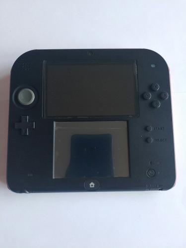 Nintendo 2ds negro con rojo 18 juegos legítimos instalados