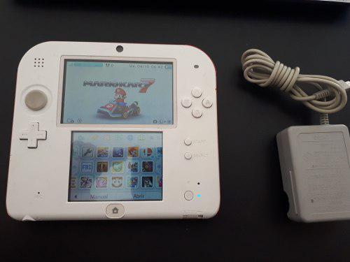 Nintendo 2ds usado 16 juegos en memoria