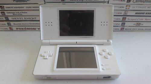 Nintendo ds lite blanco en muy buenas condiciones