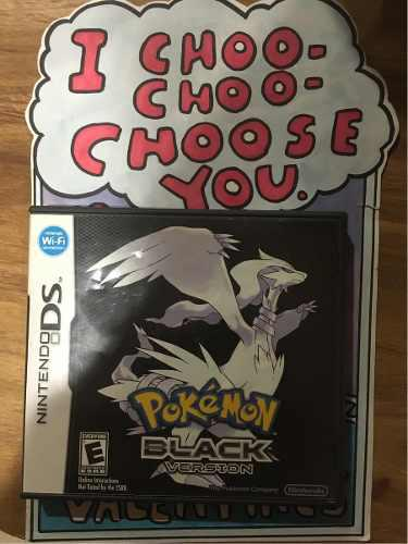 Pokemon black nintendo ds original 3ds 2ds