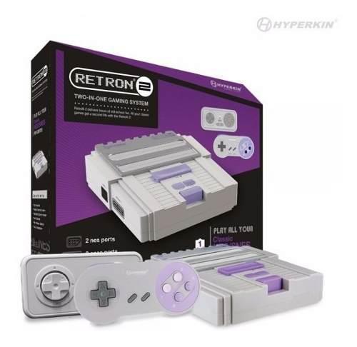 Retron 2 consola super nintendo snes super nes 2 controles