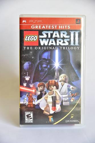 Video juego star wars lego 2 psp original