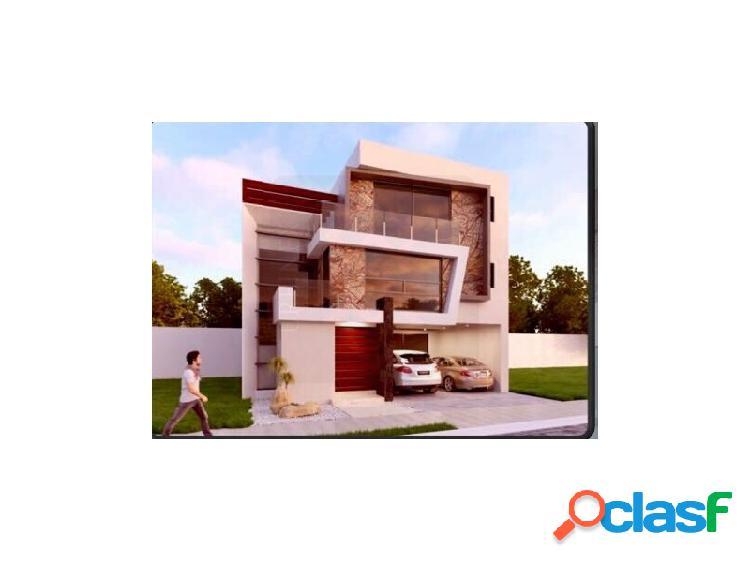 Casa Nueva con Recamara en PB con baño completo en Lomas de Angelópolis. I Cluster 222 Puebla, Lomas de Angelópolis