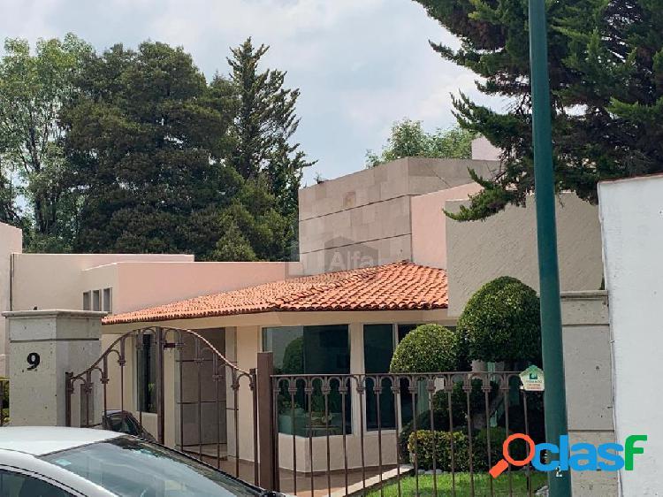 Casa sola en renta en Residencial Campestre Chiluca, Atizapán de Zaragoza, México