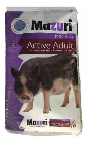 Alimento mazuri pg active adulto sp 25 libras