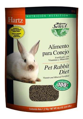 Alimento para conejo de 1.2 kilos