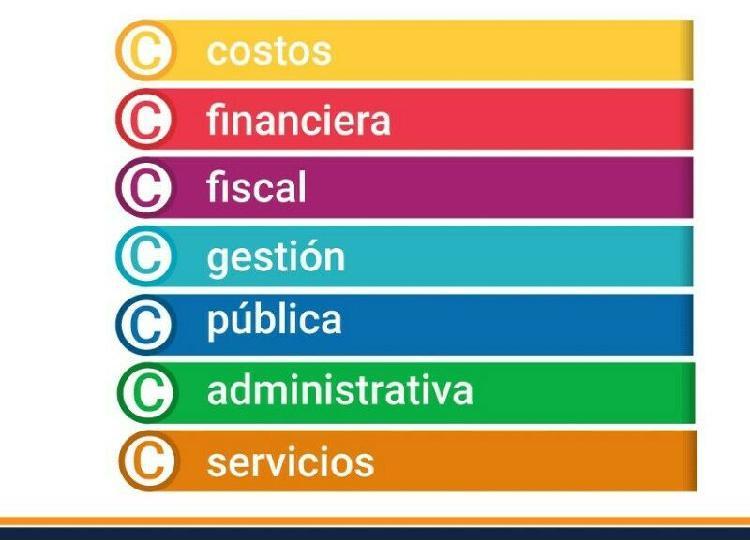 Apoyo en tareas contabilidad y finanzas