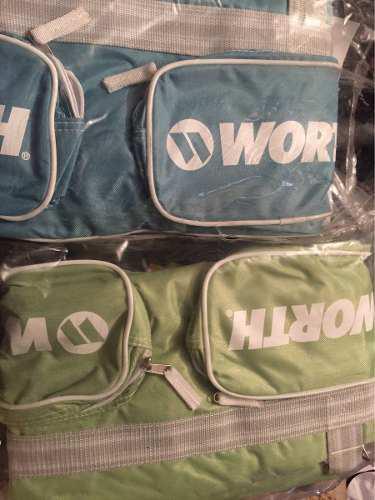 Batera maleta para mujer sóftbol beisbol marca worth nueva